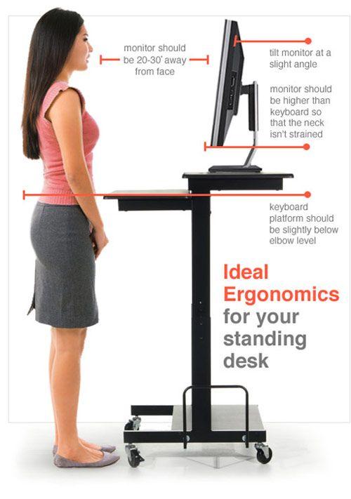 standing desk ergo