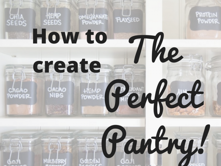 Building the Perfect Pantry