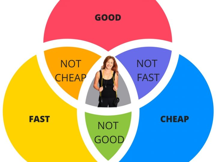 can you get fit in a way that is good, fast and cheap?